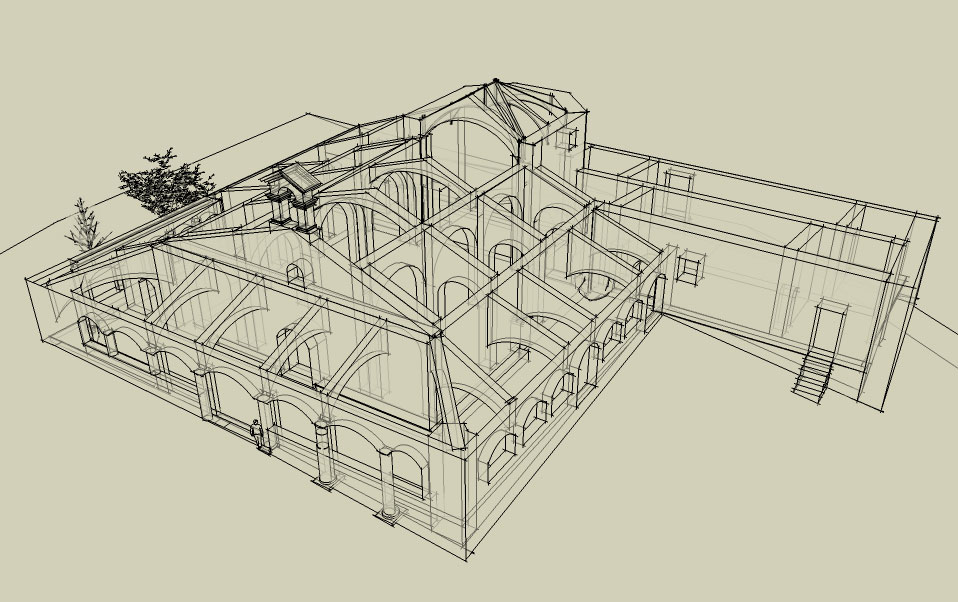 Comenzar a dibujar en 3d con google sketchup el dibujante for Programa para dibujar en 3d