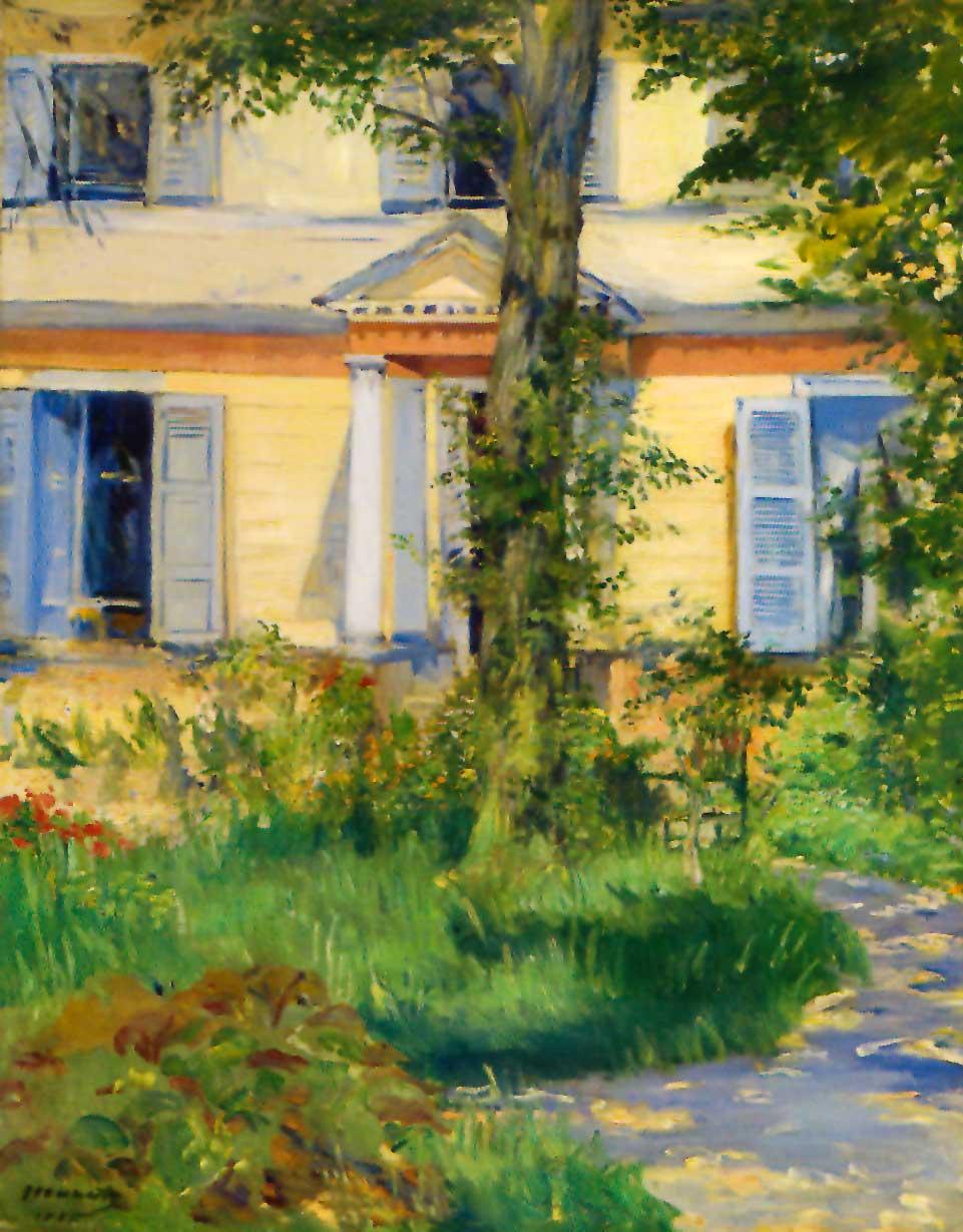 jardines impresionistas el dibujante