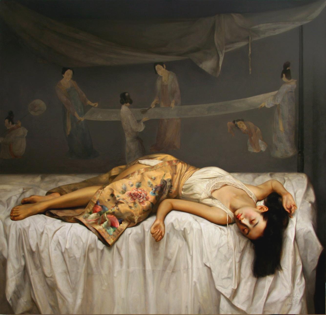 Resultado de imagen para pintura contemporanea asiatica