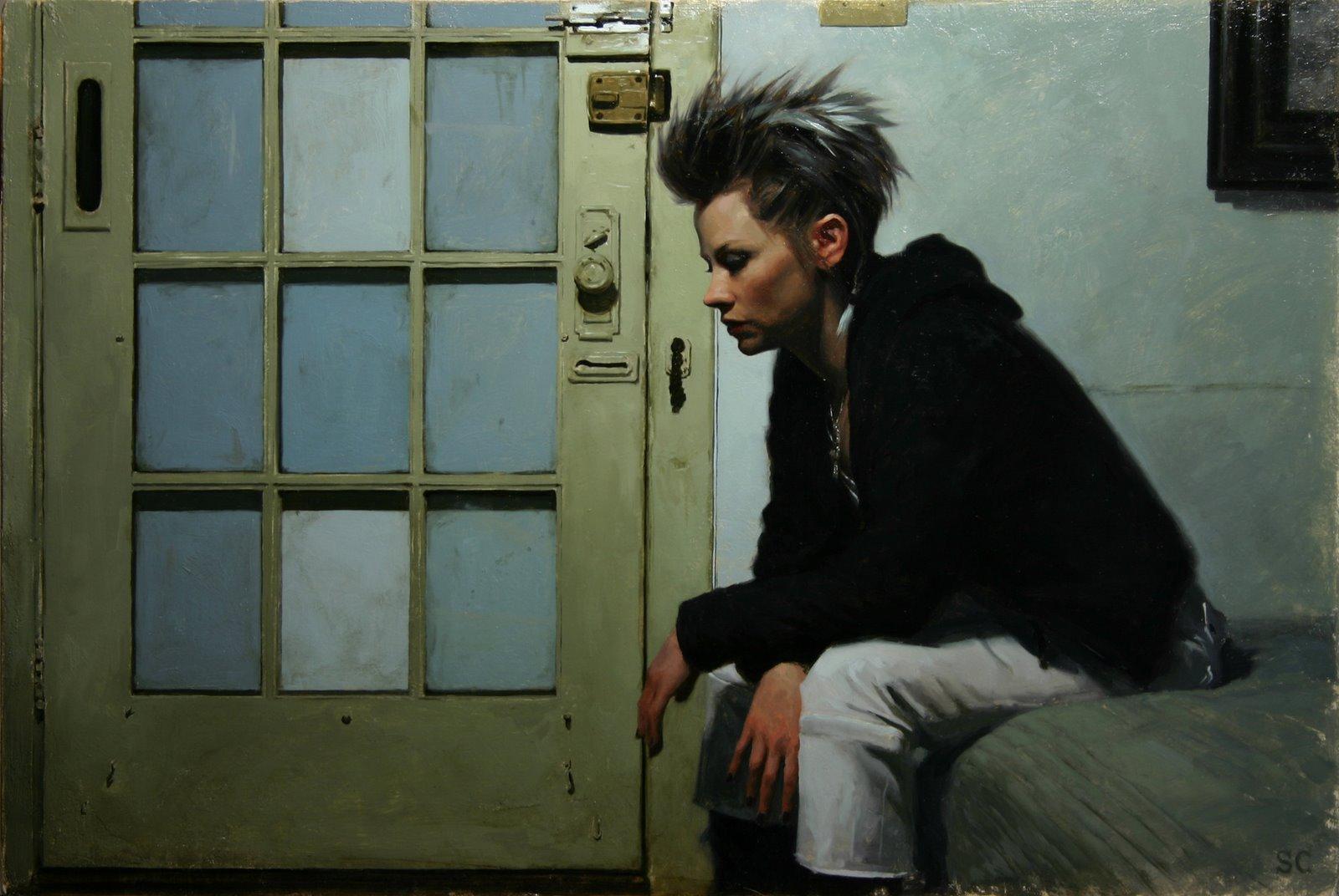 Pintura: El hiperrealismo punk de Sean Cheetham